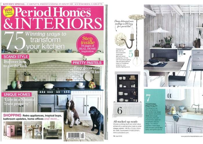 Period Homes Interiors April 2016