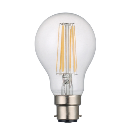 GLS Lamp 8w BC LED Lamp Clear