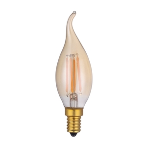 Vintage Coupe de Vent Candle 4w E14 LED Lamp