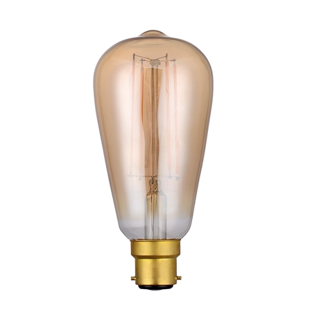 Vintage Rustika Filament 4w BC LED Lamp