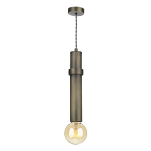 Adling 1 Light Pendant Antique Brass