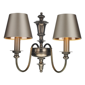 Dickens Wall Light Bronze