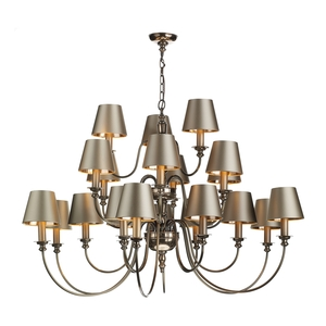 Dickens 21 Light Pendant Bronze