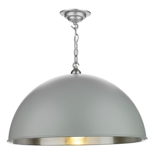 Ealing Large Pendant Powder Grey