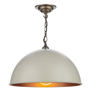 Ealing Small Pendant Cotswold Cream