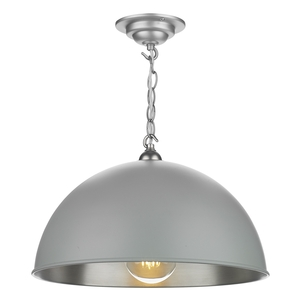 Ealing Small Pendant Powder Grey