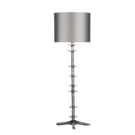 Icarus Table Lamp Pewter