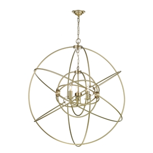 Orb 3 Light Large Pendant Butter Brass