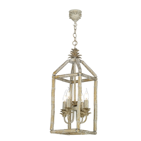 Pagoda 4 Light Pendant