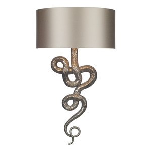 Snake Wall Washer Bronze