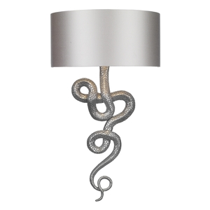 Snake Wall Washer Pewter