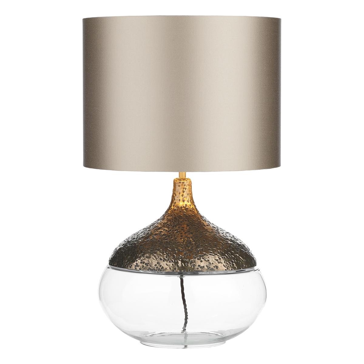 Teardrop Table Lamp Bronze