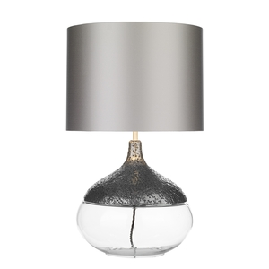 Teardrop Table Lamp Pewter