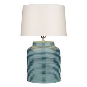 Tidal Table Lamp Petrol Blue