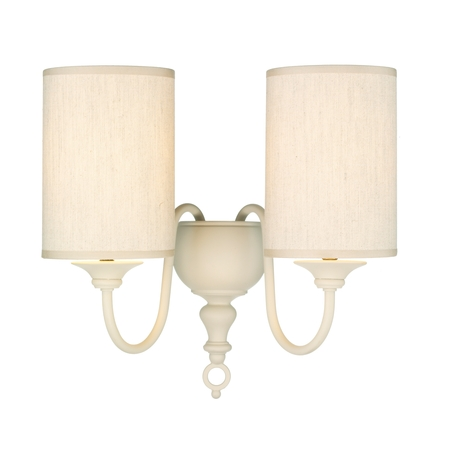 Flemish Cream Double Wall Light
