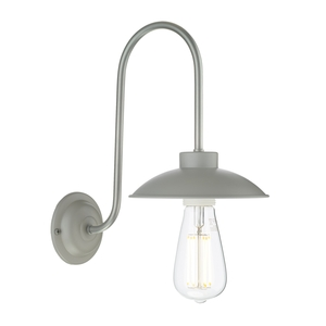 Dallas Powder Grey Wall Light