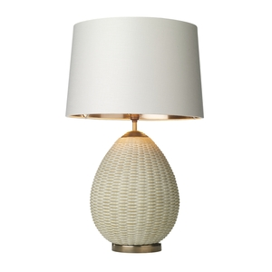 Lombok Rattan Table Lamp