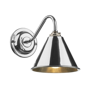 London Wall Light Chrome