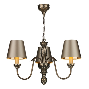 Oxford 3 Light Bronze Pendant