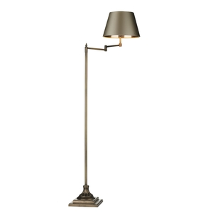 Pimlico Floor Lamp With Swivel Arm Right Sided