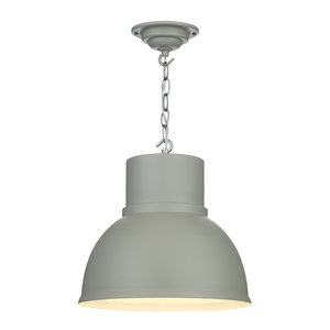 Shoreditch Small Powder Grey Pendant