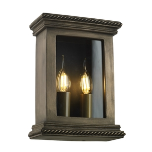 Truro Wall Light Antique Bronze