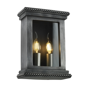 Truro Wall Light Antique Pewter