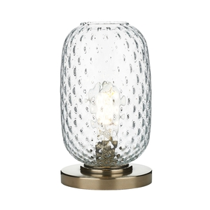 Vidro Bronze Small Table Lamp Clear