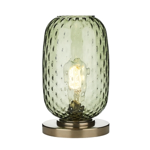 Vidro Bronze Small Table Lamp Green