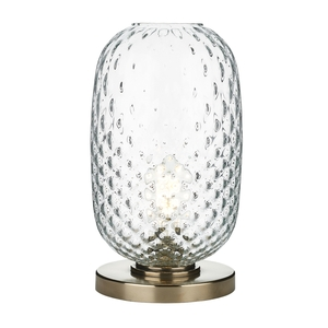 Vidro Bronze Large Table Lamp Clear