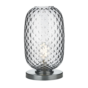 Vidro Pewter Large Table Lamp Pewter