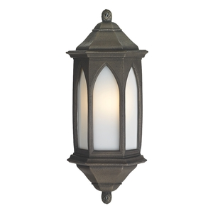 York Wall Light Antique Bronze