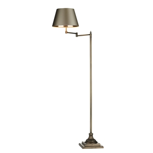 Pimlico Floor Lamp With Swivel Arm Left Sided