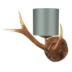 Antler Rustic Bespoke Small Wall Light