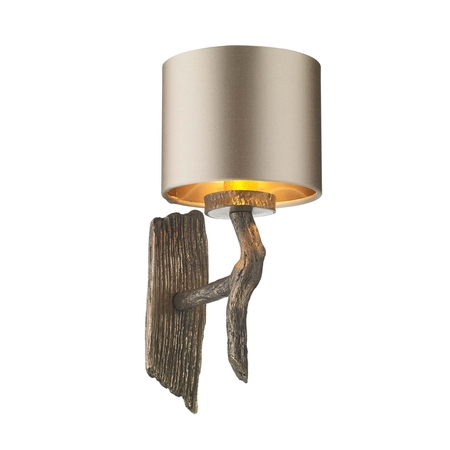 Joshua Bronze Wall Light