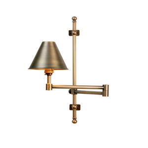 Squire Antique Brass Wall light