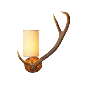 Antler Rustic Right Hand Wall Light