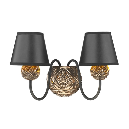 Novella Bronze Double Wall Light
