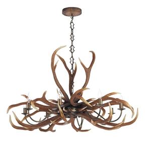 Pendants david hunt lighting antler emperor rustic 8 light pendant mozeypictures Choice Image
