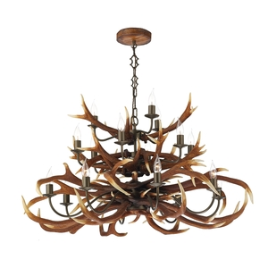 Pendants david hunt lighting antler rustic 17 light pendant mozeypictures Image collections