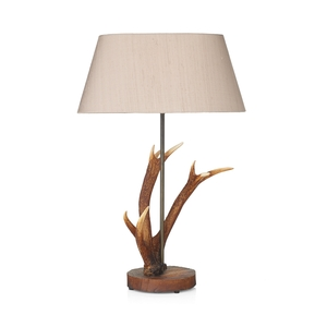 Antler Rustic Small Table Lamp