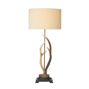 Antler Rustic Large Table Lamp