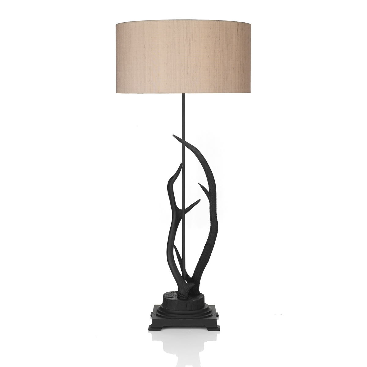 Antler Black Large Table Lamp