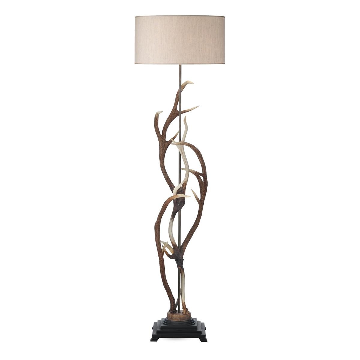 Antler Rustic Floor Lamp