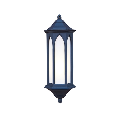 Winchester Black Outdoor Wall Light