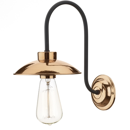 Dallas Wall Light Copper