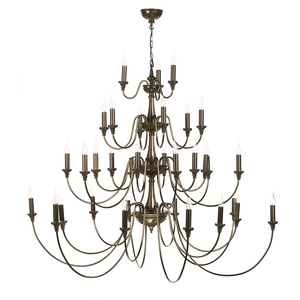 Bailey Rich Bronze 33 Light Pendant