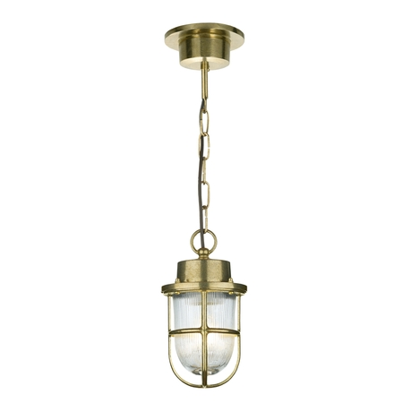 Harbour Outdoor Pendant Brass