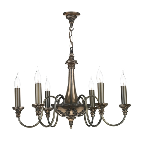 Bailey Rich Bronze 6 Light Pendant