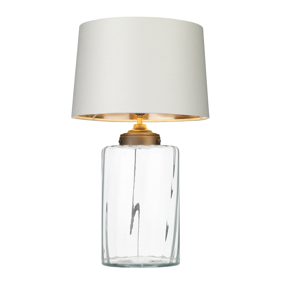 Kew Clear Glass Table Lamp